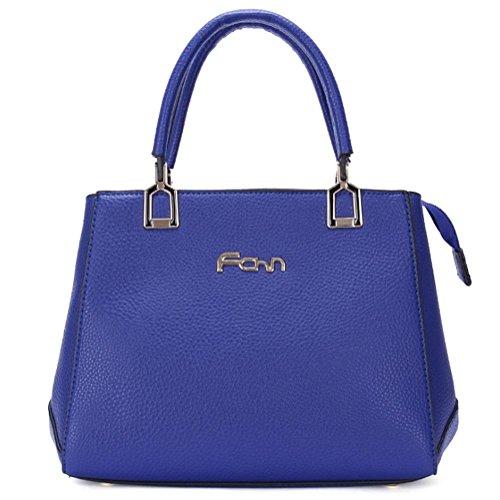 GBT Arbeiten Sie neue Dame-Handtasche um Blue