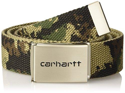carhartt-unisex-grtel-clip-belt-chrome-mehrfarbig-camo-painted-green-one-size