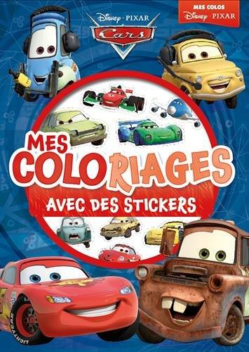 Cars, mes coloriages avec des stickers par Hachette Jeunesse