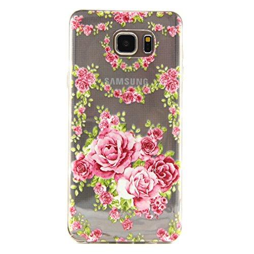 A9H iPhone 6 6S (4,7 Zoll) Hülle Case Handyhülle Schutzhülle Durchsichtig TPU Crystal Clear Case Backcover Bumper Schutzhülle Ultradünn Weich Flexibel Silikonhülle 04A 18A