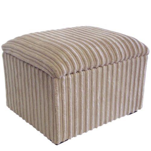 Small Jumbo Cord Fabric Storage Box/Pouffe / Footstool (Beige) Amazon.co.uk Kitchen u0026 Home  sc 1 st  Amazon UK & Small Jumbo Cord Fabric Storage Box/Pouffe / Footstool (Beige ... islam-shia.org