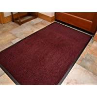 think-louder Anti Slip Rubber Outdoor Floor Mat, Entrance barrier Rugs Home Kitchen Office Door runner in and sizes 40x60/60x90/60x180/90x150/120x180