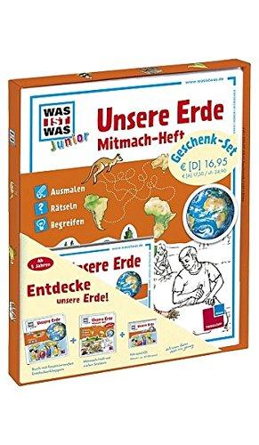 Unsere Erde (Geschenk-Set inkl. Hörspiel und Mitmach-Heft) (Was ist Was Junior, Band 10)