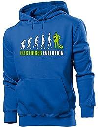 ELEKTRIKER EVOLUTION - Cooler Comedy Herren Kapuzenpullover S-XXL