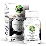 Ajo negro -Aquisana| Aumenta nuestra energía diaria| Ayuda a mejora nuestras defensas - Suplemento alimenticio |Libre de alérgenos - 30 cápsulas