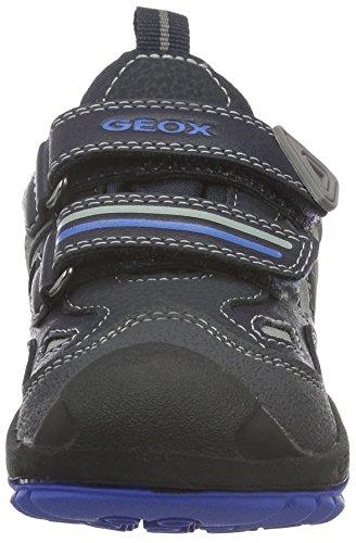 Geox J New Savage Boy B Abx D, Baskets Garçon Blau (NAVY/ROYALC4226)