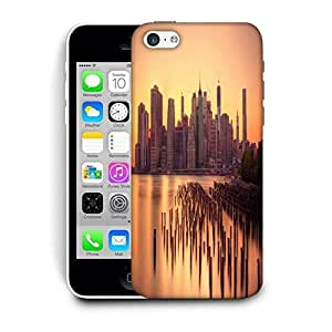 Snoogg New York Docks Printed Protective Phone Back Case Cover For Apple Iphone 6 / 6S