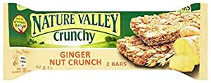 Nature Valley Crunchy Granola Ginger Nut Crunch 2 Bars 42 G (pack Of 18)