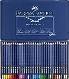 Faber-Castell Art Grip Aquarelle Pencils Tin 36 Pencils