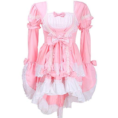 Fancy Dress Outfit - LATH.PIN Damen Cosplay Kostuem Lolita gotische