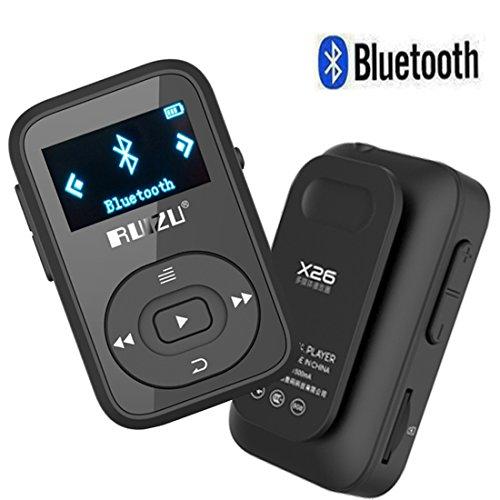 cfzc 8GB Sport Clip Bluetooth MP3Player verlustfreie Stereo Sound Musik Player mit FM RECORD   unterstützt bis zu 64GB Karte