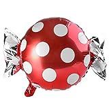 Gjyia Rond Dot Bonbons Feuille D'Aluminium Ballon D'hélium Enfants Fête d'anniversaire De Mariage Fournitures Dekor