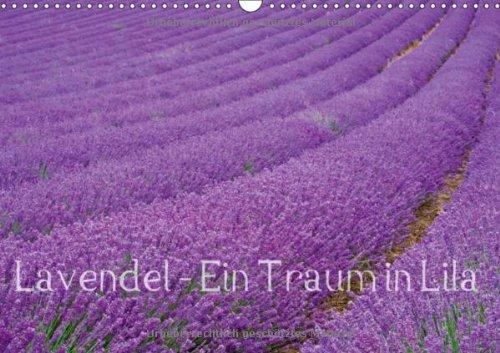 Lavendel - Ein Traum in Lila (Wandkalender 2014 DIN A3 quer): Genießen Sie ein ganzes Jahr blühenden Lavendel und erfreuen Sie sich an der intensiven Lavendelfelder. (Monatskalender, 14 Seiten) - Blühende Kräuter Duft