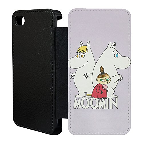 Mumins Cartoon Flip Case Cover Für Apple iPhone 6 Plus & 6S Plus – 41 A1331 - Moomin