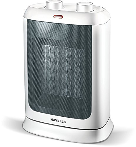 Havells Calido - Gold - 2000w, Ptc Fan Heater (white)