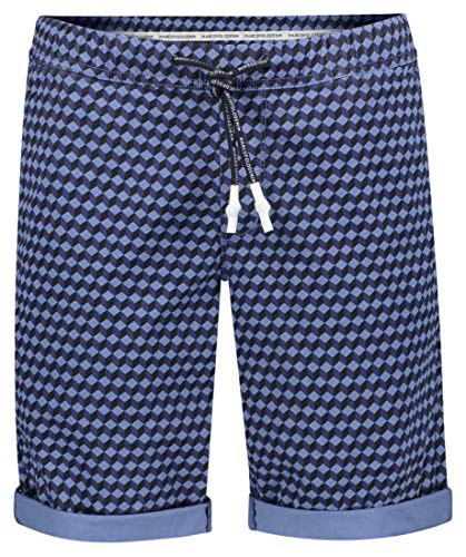 Marc O´Polo Denim Herren Shorts 964034415004 Mehrfarbig (Woven Combo U20) W32(Herstellergröße: M) -