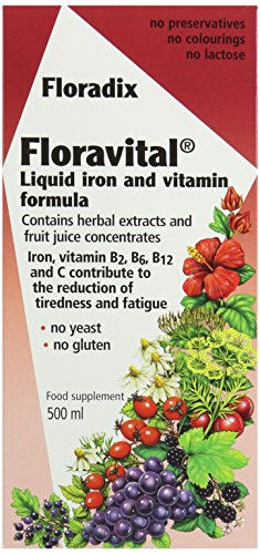 Floradix, Floravital Yeast And Gluten Fr, 500ml