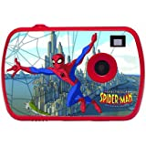 Lexibook DJ021SP Spider-Man Digitalkamera (1,3 Megapixel, 3,6 cm (1,4 Zoll) LCD-Display, USB)