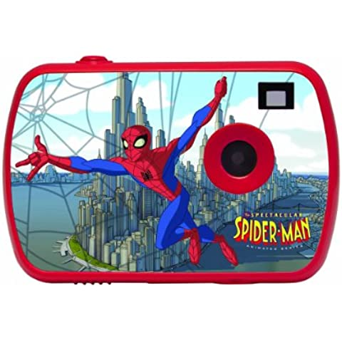 Lexibook LE-DJ021SP Fotocamera Digitale per Bambini, Spiderman,