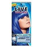 Schwarzkopf Live-Farb Xxl Extrem Brights 95 Electric Blue Semi-Permanenten Blauen Haarfärbemittel