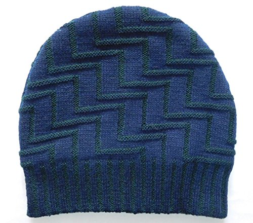 Sylan's Men's Woollen winter Skull Cap Blue  available at amazon for Rs.249