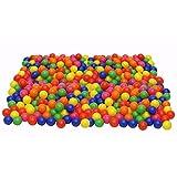 Malloom® 200 Pc Palline Colorate,Morbido Plastica Ocean Palla Palline Per Giocattolo Del Bambino immagine