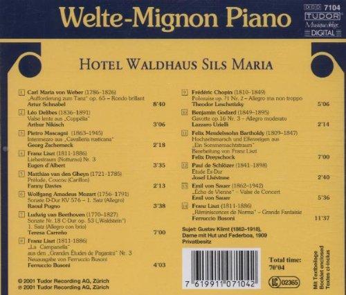 Welte-Mignon Piano