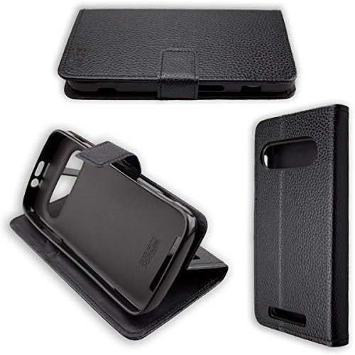 caseroxx Hülle/Tasche Bookstyle-Case Doro 8040/8042 Handy-Tasche, Wallet-Case Klapptasche in schwarz
