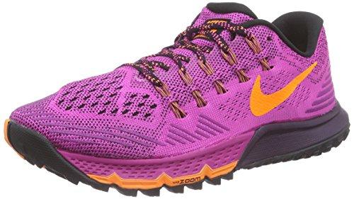 NikeAir Zoom Terra Kiger 3 - Scarpe da corsa donna , Rosa (Pink (Fuchsia Flash/Bright Citrus/Nbl Purple)), 38
