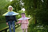 Note. Unique 2016 Creativite Children Rain Coat Kids No Handle Foldable Umbrella Outdoors Raincoat