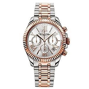 Thomas Sabo Watches, Reloj para señora Divine Chrono, Acero, WA0221-272-201 de Thomas Sabo GmbH
