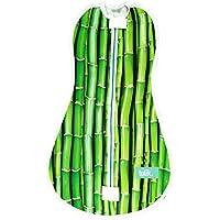 Tulik Baby Swaddle per neonato tuta con cerniera per bambini e neonati (0–3mesi) (Bamboo Dream)