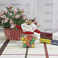 New Christmas Candy Dosen Kleine Runde Pentagram Stoff Puppe Candy Box Candy kann für Weihnachten