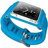 Minimal CMKY TikTok TTBLU-008 Bracelet pour iPod Nano 6G Bleu Ciel
