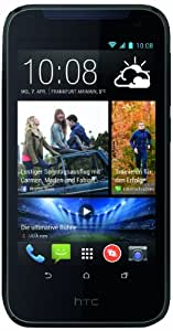 HTC Desire 310 Smartphone (11,4 cm (4,5 Zoll) FWVGA Display, Quad-Core, 1,3GHz, 1GB RAM, 5 Megapixel Kamera, Android 4.2) blau