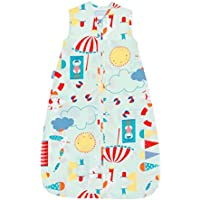 The Gro Company Beside the Sea 18-36 Months, 0.5 Tog Extra Cool Travel Grobag with Fabric Carry Bag - ukpricecomparsion.eu