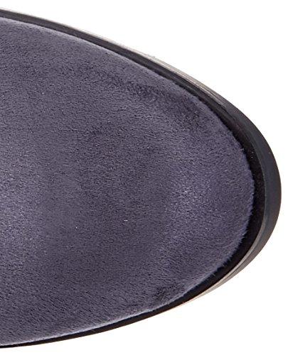 Buffalo London 2865 Micro Strech, Stivali Donna Grigio (Antracite 01)
