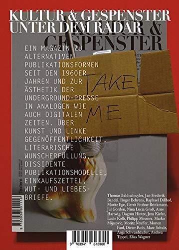 Kultur & Gespenster / Kultur & Gespenster 20: Unter dem Radar (Kultur und Gespenster / Textem-Magazin)
