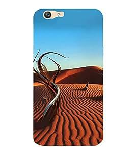 ifasho Designer Back Case Cover for Oppo F1s (A Desert Kingdom Desert Bowls Set Of 6 Desert Angel)