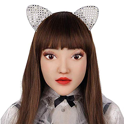 Halloween Maske Handgemachte Make Up Silikon Maske Transgender Halloween - Stick Leute Kostüm