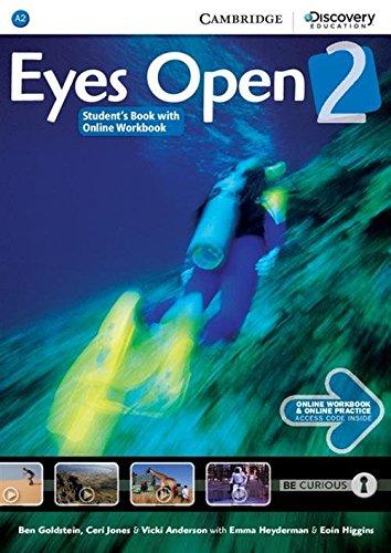 Eyes Open Level 2 Student's Book with Online Workbook and Online Practice por Ben Goldstein