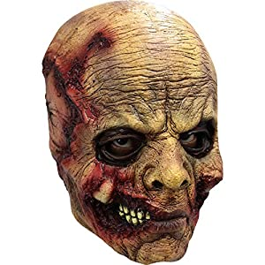 Générique Generic mahal658-Full Face máscara látex Adultos Muerte Vivo-un tamaño
