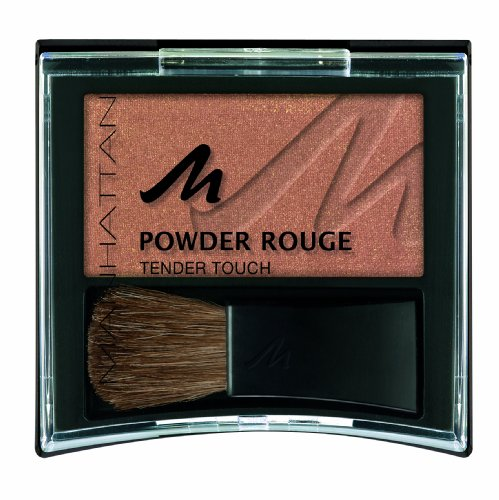 Manhattan 16560 Powder Rouge 9, golden brown, 1er Pack -