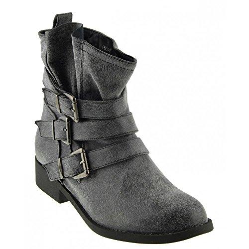 Kick Footwear, Stivali donna Grigio (grigio)
