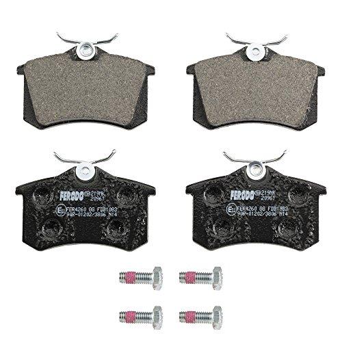 Ferodo FDB1083  Premier Kit Pastiglie Freno a disco , confezione con 4 pezzi