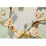 Sass & Belle Rose Garland - Cream - Length 180 Cm