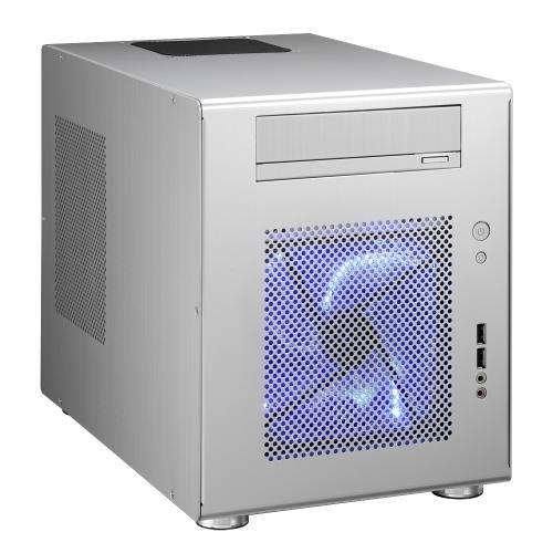 Lian Li PC-Q08A mini-ITX Gehäuse 2x USB 2.0 silber