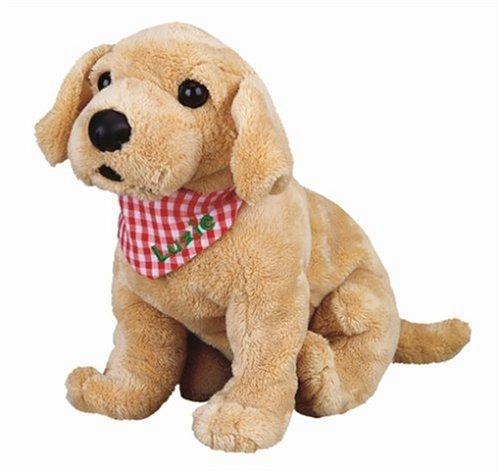 Die Spiegelburg 4639 Labrador Welpe Luzie (ca. 25 cm) (Hund Spielzeug Denken)