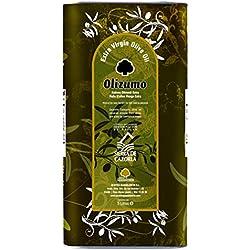 """Caja de 4 latas Aceite de oliva virgen extra Olizumo, DOP """"Sierra de Cazorla"""""""