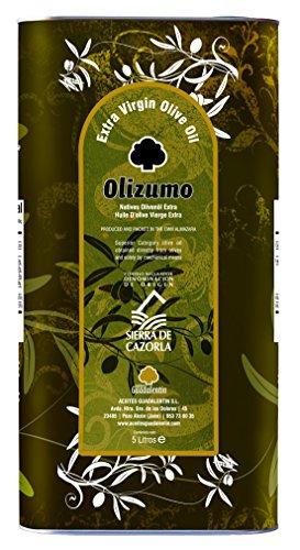 Caja de 4 latas Aceite de oliva virgen extra Olizumo, DOP